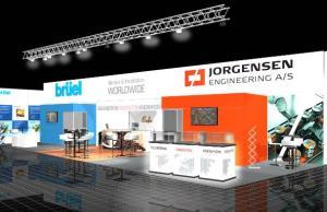Jorgensen's stand at Interpack 2014
