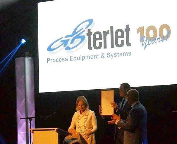 Terlet 100th birthday celebration