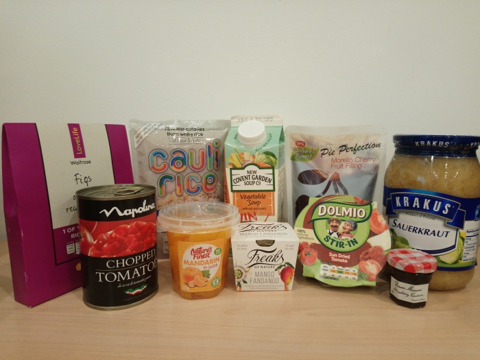 Fruit and veg products